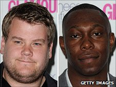 James Corden and Dizzee Rascal