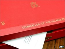Chancellor's Budget box