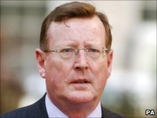 File pic of David Trimble