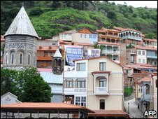 Old part of Tbilisi