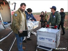 Capsule recovered (AusSMC)