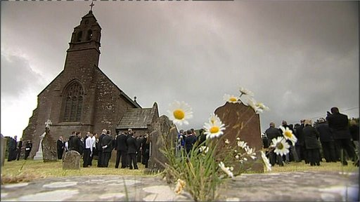 Funeral of David Bird at St Michael's Church Lamplugh