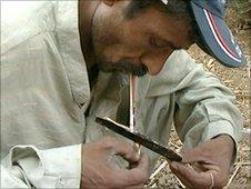 Drug addict, Lahore - June 2010