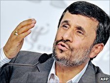 Mahmoud Ahmadinejad, 11 June