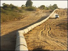 Pipeline in Rajasthan