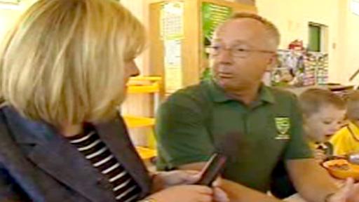 Colette Hume interviews headteacher Peter Osborne