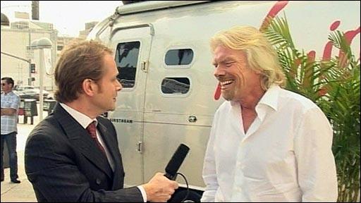 Sir Richard Branson on Virgin Gaming