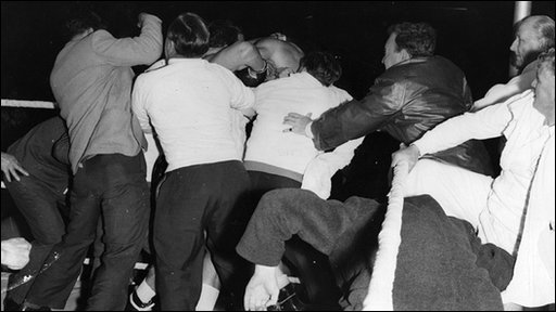 The brawl in Porthcawl: Post-fight after Dick Richardson v Brian London