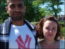 Ashiq Rahman and Eugennie Cortezo