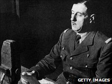 Charles de Gaulle's broadcast on 18 June 1940