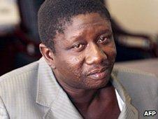 Ousmane Conte - son of Guinea's late President Lansana Conte