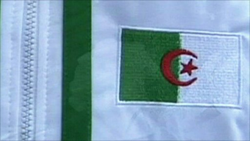 Algerian football top