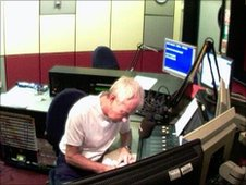BBC Newcastle studio 1B