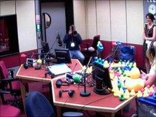BBC Newcastle studio