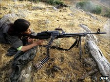 PKK fighter (2005)