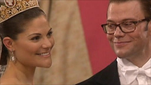 Princess Victoria and Daniel West ling