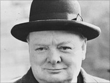 winston churchill term papers