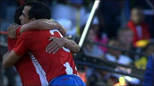 Riveros smashes home Paraguay's second