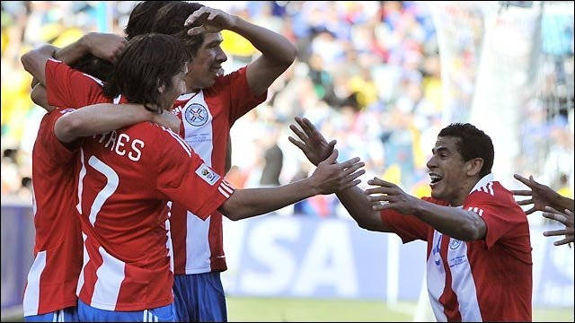 World Cup 2010 highlights: Slovakia 0-2 Paraguay