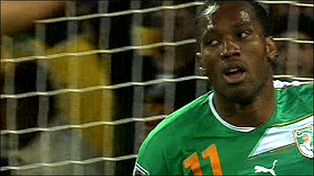Ivory Coast striker Didier Drogba