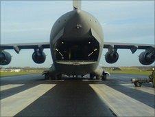 C17 at RAF Cosford