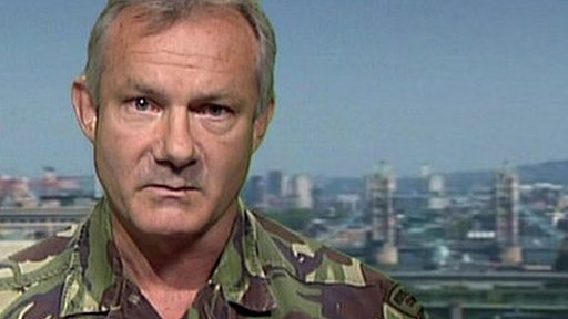 Major General Gordon Messenger