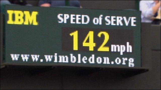142 mph serve
