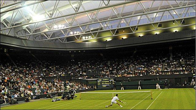 Centre Court roof