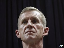 Gen McChrystal in Kabul, May 30