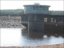 Black Esk reservoir - courtesy Scottish Water