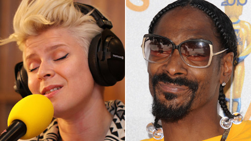 Robyn and Snoop Dogg