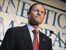 Connecticut Attorney General Richard Blumenthal