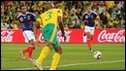 Florent Malouda scores for France