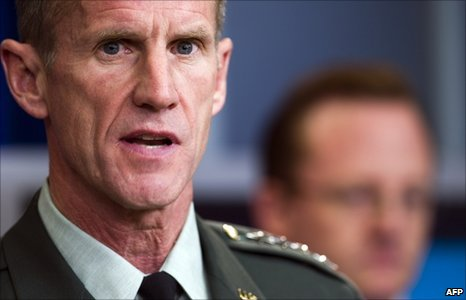 Stanley McChrystal (10 May 2010)