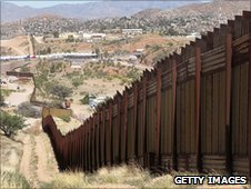 Arizona-Mexico border fence