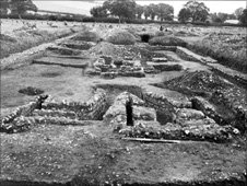The Yewden Villa at Hambleden was excavated in 1912