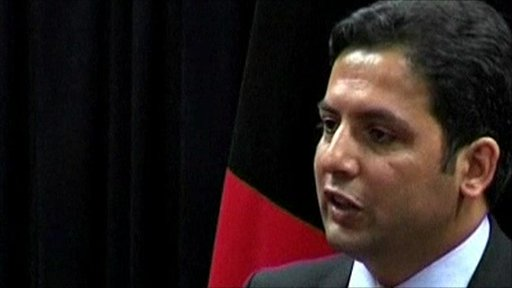 Waheed Omar, spokesperson for Afghanistan's President Hamid Karzai