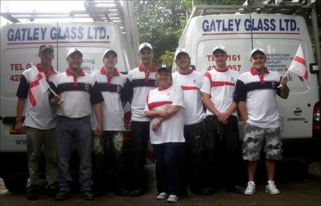 The Gatley Glass employees