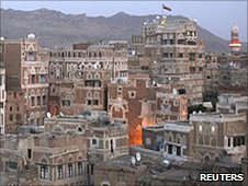 Sanaa, capital of Yemen