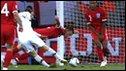 Slovenia put England under pressure in the second half