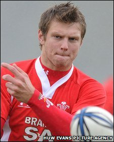 Dan Biggar has made five Wales appearances, three as a replacement