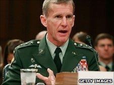 Gen Stanley McChrystal (file image)