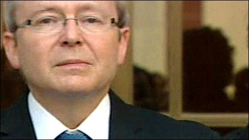 Former Australia PM Kevin Rudd