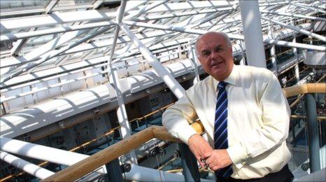 John Palmer, Head of Communications at Sheffield Hallam University