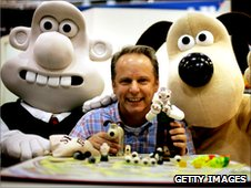 Nick Park, the creator of Wallace and Grommit.