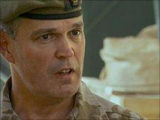 Brigadier George Norton in Marjah - June 2010