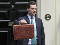 George Osborne on budget day