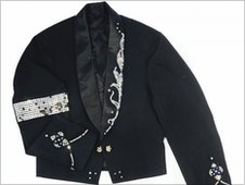 Michael Jackson's sequined stage jacket