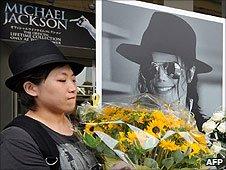 Jackson fan pays tribute in Tokyo