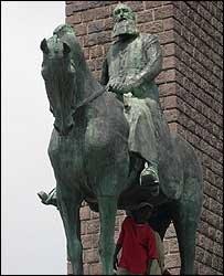 Statue of Leopold II of Belgium, Kinshasa